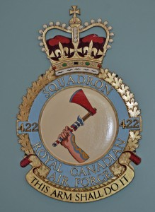 RCAF Squadron 422 This Arm Shall Do It